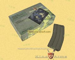 King Arms 120rd Magazine for M4/M16 AEG (OD, 10pcs)